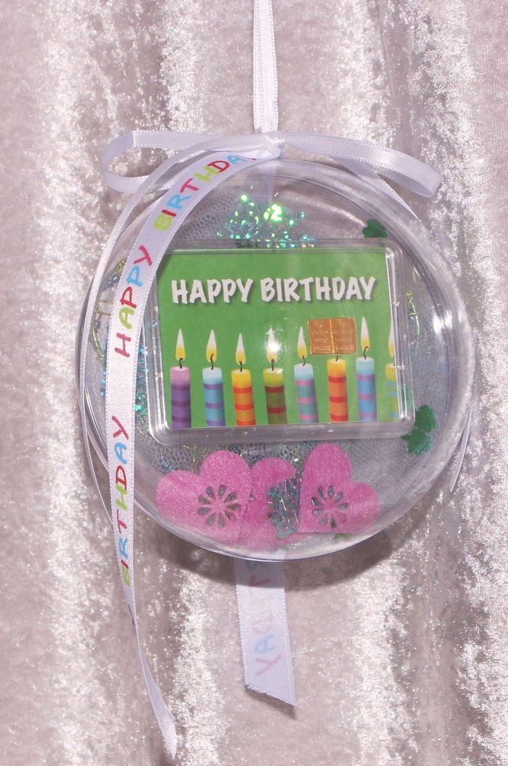 2 G Gramm Gold Goldbarren Zum Geburtstag Geschenk Mit Kerzen U0026 Herzen Happy  Birthday In Dekorierter