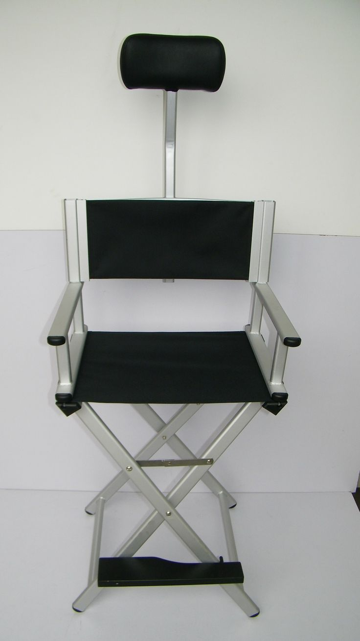 People sitting in waffle chair - Professional Makeup Artist Chair Front View