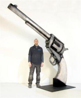 Event Prop Hire: Western Revolver Gun