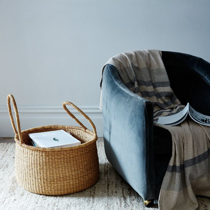 Large Woven Storage Basket by Food52 - Dwell