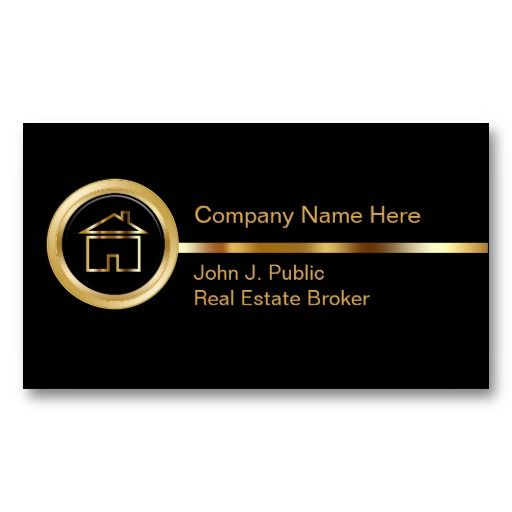 The 16 best business cards for realtors images on pinterest real upscale real estate business cards reheart Image collections
