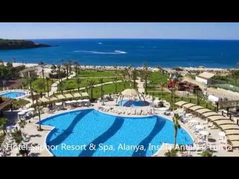 Hotel Saphir Resort & Spa, Statiunea Alanya, Insula Antalya, Turcia youtube
