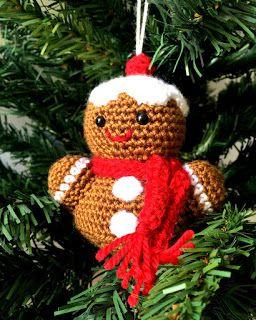 33Threads: Christmas Ornaments!!! Gingerbread man