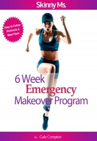SkinnyMs.com's 6 week emergency makeover program offers a healthy alternative to crash dieting. Make yourself over iwith this unique meal and workout program.