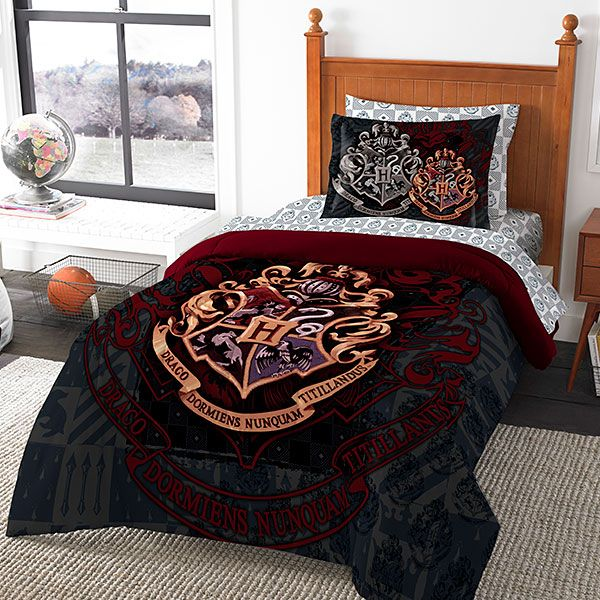 Show your appreciation for Hogwarts with this crest-covered bedding set, a ThinkGeek exclusive. Available for four different bed sizes, it will keep you snug while you sleep off the effects of the Draught of Living Death.