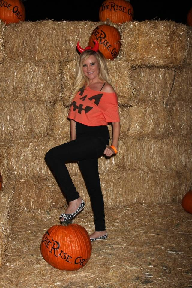 Bridget Marquardt at the Pumpkin Patch