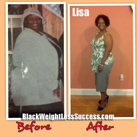 Lisa lost 119 pounds | Black Weight Loss Success