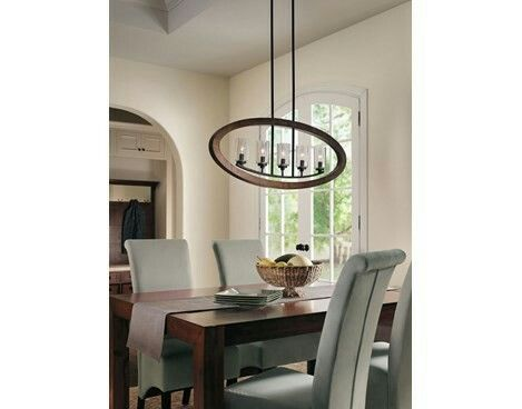Shop Kichler Lighting Grand Bank 5 Light Linear Chandelier At Lowes Canada Find Our Selection Of Chandeliers The Lowest Price Guaranteed With