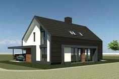 Schuurwoning Breecamp Oost   Zwolle - Ontwerp van AL architecten voor een nieuw te bouwen schuurwoning in Plan De Plantage in Breecamp Oost, Zwolle