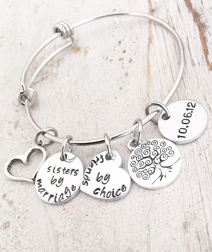 Wedding Gift For Your Sister In Law The Perfect Bangle Bracelet A