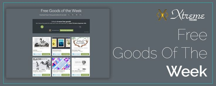 Free Goods Of The Week  Sep. 04 #xtremefreelance #wordpressdevelopment