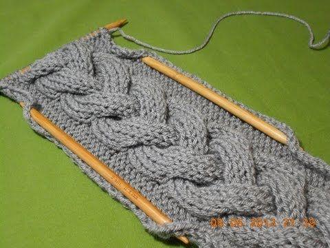 Trenza en crochet primaveral de tres - ideal para blusas, sueter, chalecos, mantas, gorros, - YouTube
