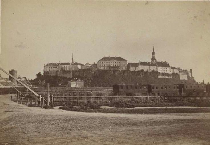 Estonia. Tallinn, View of the Baltic station  Year: c. 1890 Tallinn City Museum