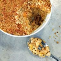 Alton Brown's Baked Macaroni and Cheese Recipe
