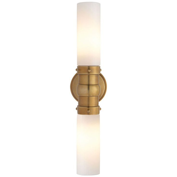 This 2 light Bath Wall Light from the Thomas OBrien Graydon collection by Visual Comfort will enhance your home with a perfect mix of form and function. This item qualifies for free shipping! Check th