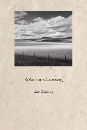 Award winner.  Mulitple nominations. Robinson's Crossing — the place where the railway ends and European settlers arriving in northern Alberta.  Learn more at Brick Books: http://www.brickbooks.ca/books/robinsons-crossing/