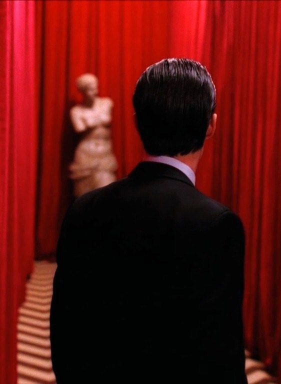 Agent Cooper from Twin Peaks by David Lynch