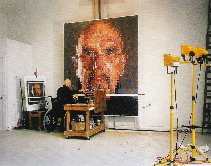 Chuck Close: Self-Portraits 1967-2005