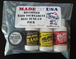 REELSPEED BASS TOURNAMENT REEL TUNE-UP PACK