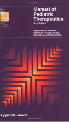 Lippincott Manual Series Manual of Pediatric Therapeutics 7th Edition