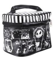 Disney The Nightmare Before Christmas Cosmetic Train Case Bag With Mirror NWT!