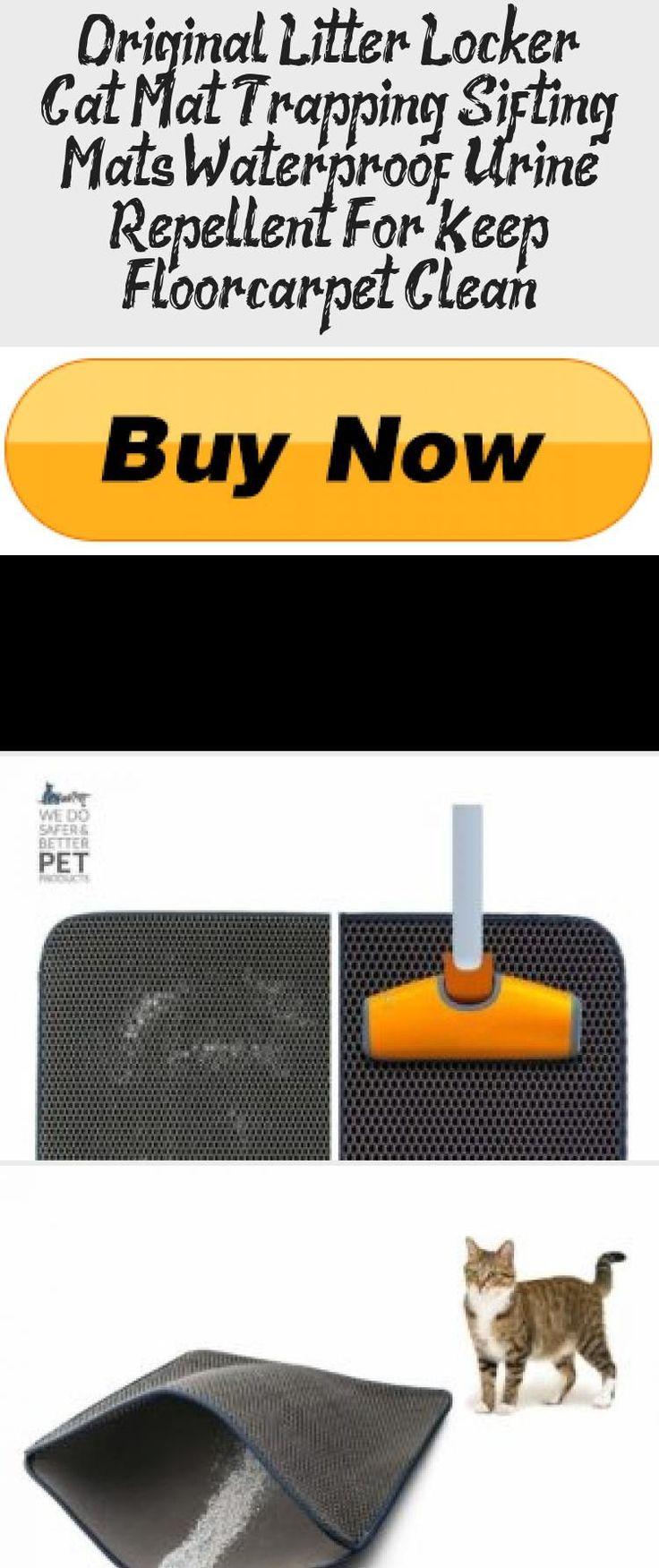Original Litter Locker Cat Mat Trapping Sifting Mats