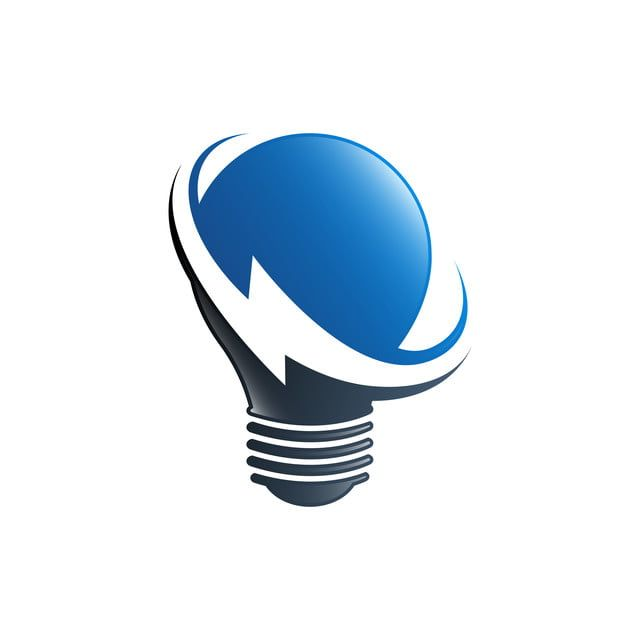 Gluhbirne Lampe Elektro Logo Innovation Idee Strom Symbol L Electricity Logo Light Bulb Logo Energy Logo