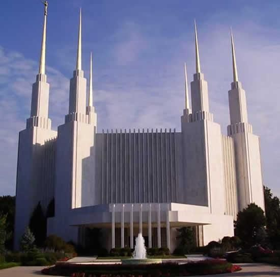Mormon Temple - Washington DC, USA - Places of worship from around the world - http://www.odditycentral.com