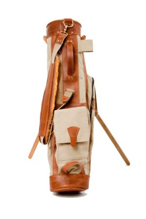 Vintage Golf Bags | Leather Golf Bags | Hickory Golf Bags | Vintage Canvas Sunday Golf Bag | Vintage Stovepipe Leather Golf Bag | Antique Golf Bag