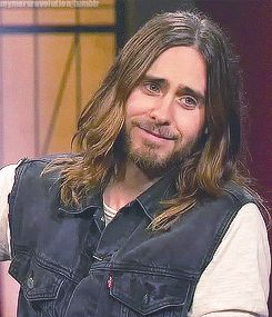 The face I make when someone says they don't like Jared Leto.