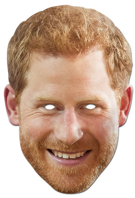 Prince Harry face mask Art ideas Pinterest Face masks and Masking