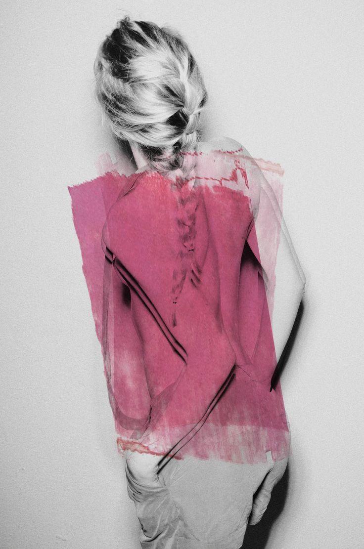 Superwoman by Bernhard Handick published at Vogue Italia
