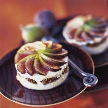 Terrine de fromage de chèvre aux figues