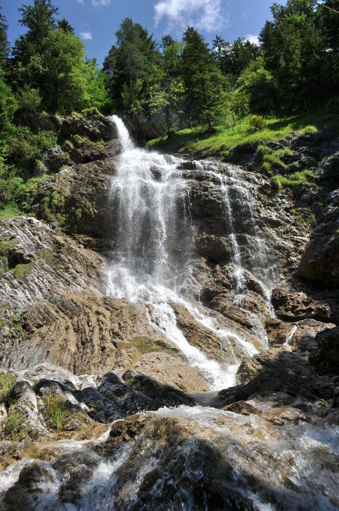 Waterfall near Bad Hindelang - Allgäu - Germany