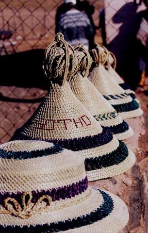 Lesotho hats. BelAfrique - Your Personal Travel Planner www.belafrique.co.za