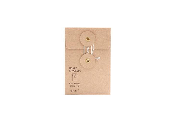 Midori Kraft Envelope - Vertical
