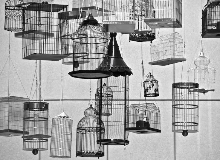 """""""Forgotten Songs"""" art installation, Angel Place, Sydney"""