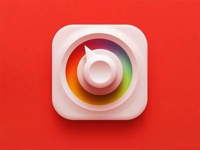 """sublime delicious icon """"Color Picker""""by Sanadas young 2013-07 vida dribbble 1177884"""