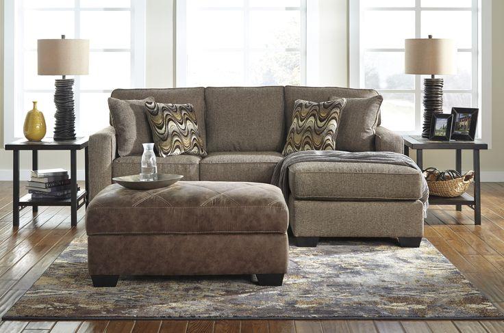 Tanacra Fabric Sofa Chaise / Sectional #sofa #fabricsofa #furniture #livingroom #sectional