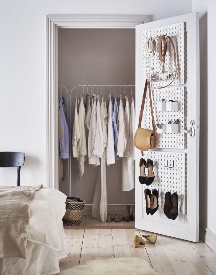 1001 Rangements Malins Pour Trouver La Meilleure Idee Dressing Adaptee A Tout Espace Idee Dressing Rangement Petit Espace Petit Dressing