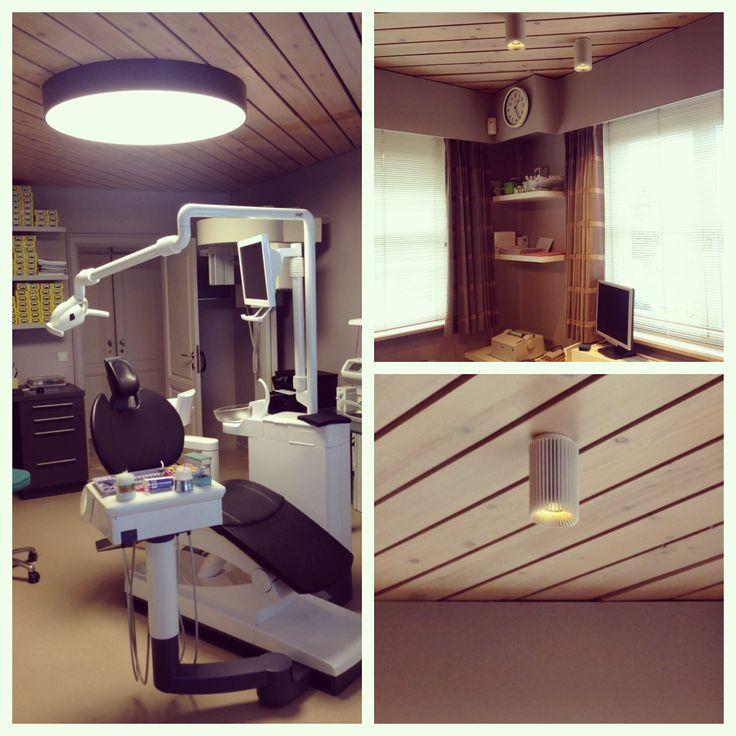 Tandartspraktijk Hemelsoen #Dentist #Prolicht #DARK #COOLFIN #architecturallighting #project at Borsbeke Herzele BE
