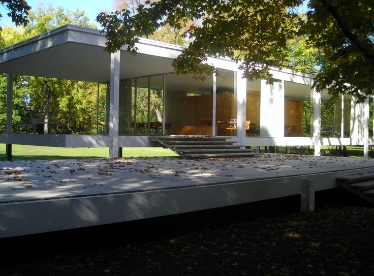 Farnsworth House, Plano, IL. Meis Van Der Rohe. Photo by me :)