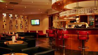 Bar im H4 Hotel Leipzig