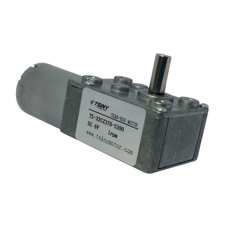 370 DC 12V 0.6RPM Gear Motor of small low rpm motors reduction Motor Metal