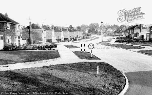 Burgess Hill, Chanctonbury Road c.1960, from Francis Frith