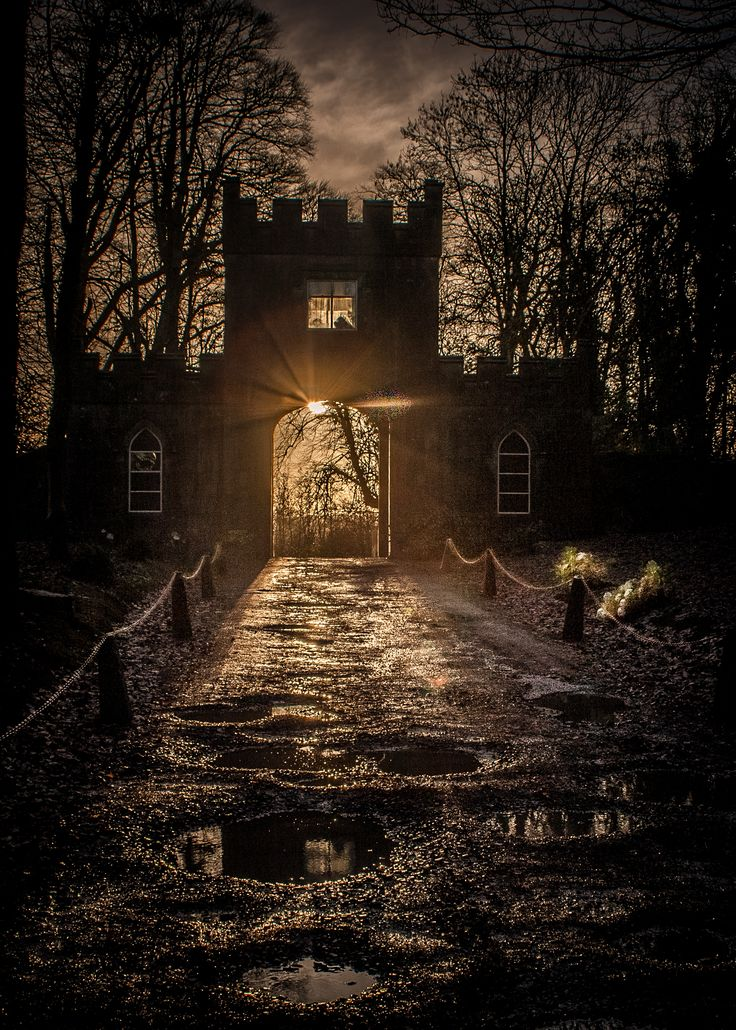 Markree Castle Main Gate, County Sligo