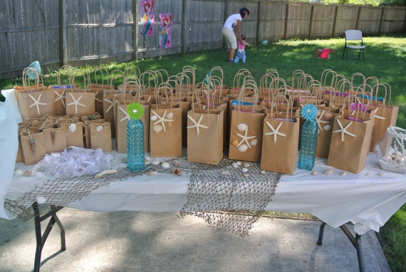 Under The Sea Goodie Bag Ideas Wwwpicsbudcom