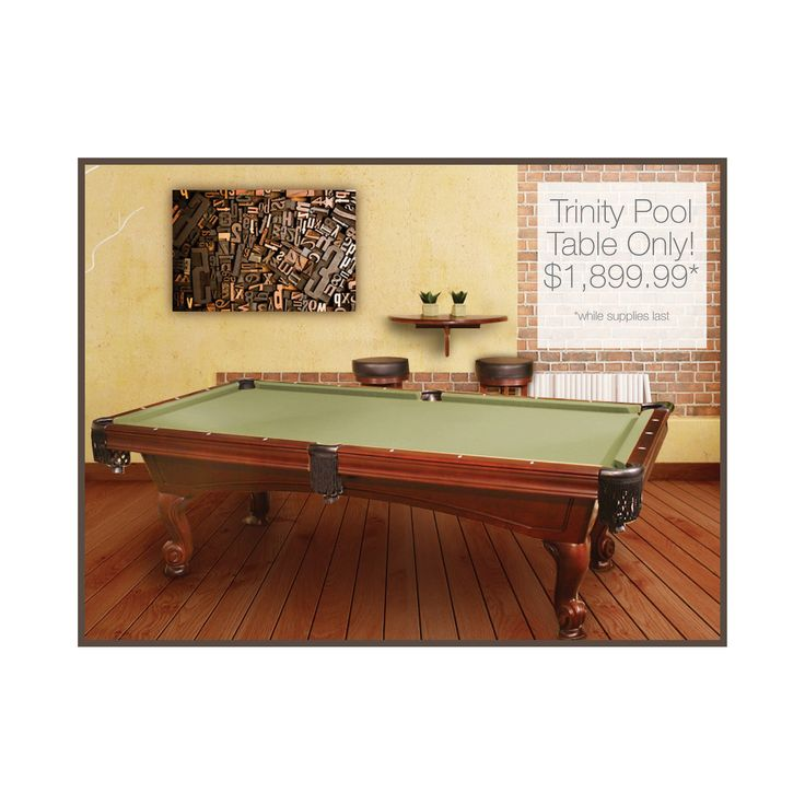 Trinity 8ft Pool Table