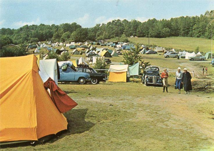 Fevik Storesand camping 1950-tallet