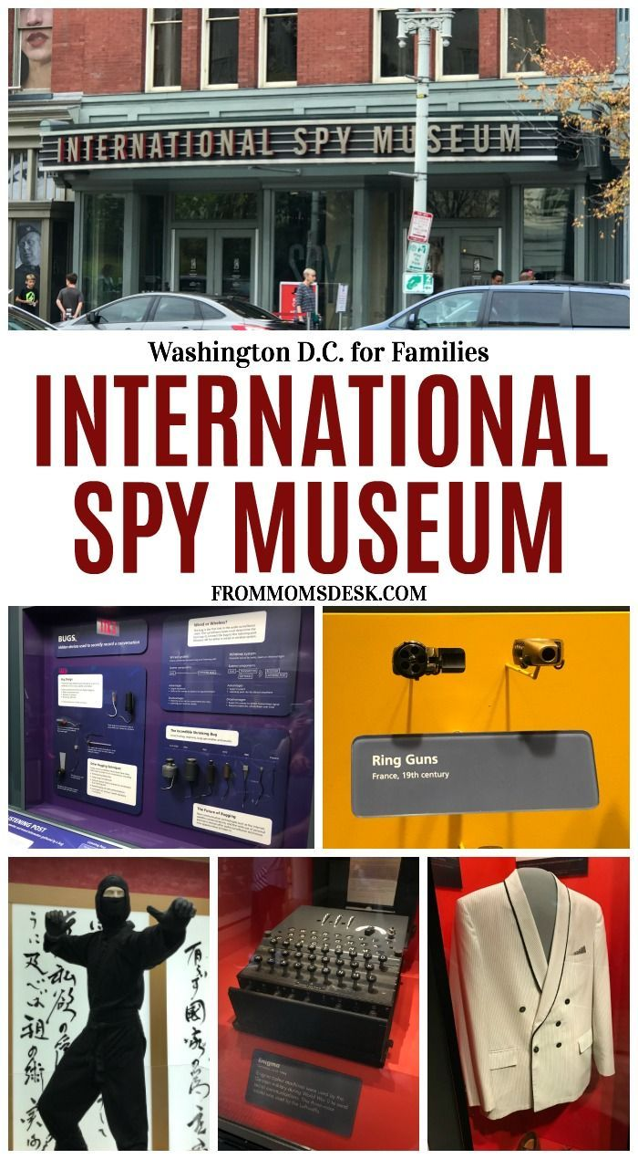 Washington Dc Map Of Attractions%0A Washington D C  Travel With Kids  International Spy Museum
